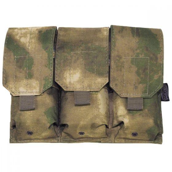 MFH M4/M16 MOLLE Drievoudige Patroonbuidel - HDT Camo FG