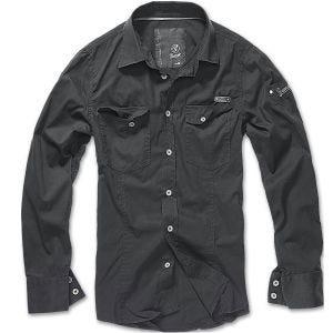 Brandit SlimFit Overhemd - Zwart