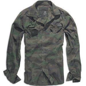 Brandit SlimFit Overhemd - Woodland