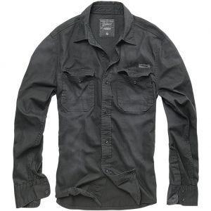 Brandit Hardee Denim Overhemd - Zwart