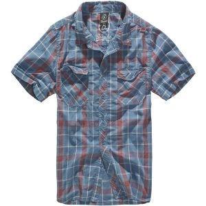 Brandit Roadstar Overhemd - Rood/Blauw