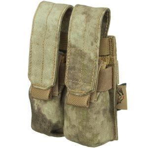 Flyye Ver. FE Dubbele Magazijnbuidel 9 mm MOLLE - A-TACS AU
