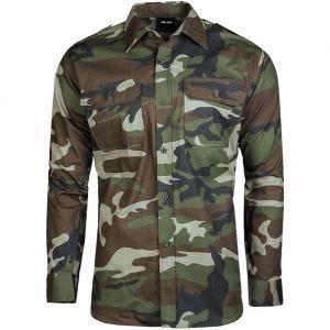 Mil-Tec Overhemd met Lange Mouwen RipStop - CCE