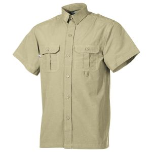 Fox Outdoor Overhemd met Korte Mouwen Outdoor - Khaki