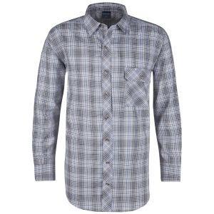 Propper Covert Button-Up Long Sleeve Shirt Ocean Blue Plaid