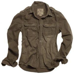 Surplus Overhemd met Lange Mouwen - Bruin